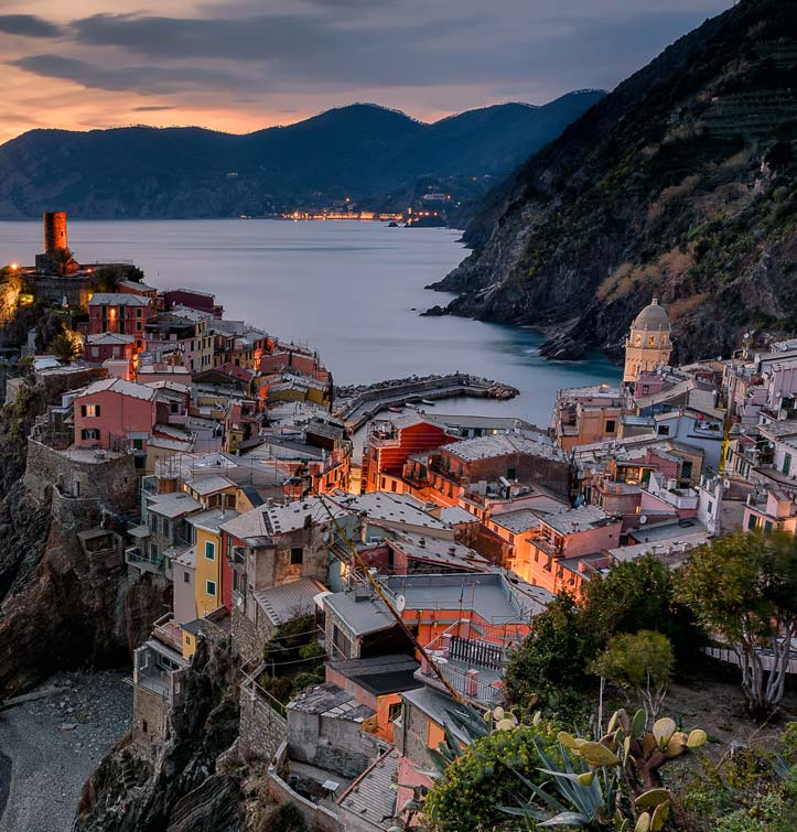 Three days of hiking <br>to/through the <br>Cinque Terre